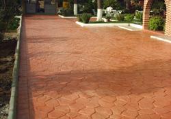 Manber pavimentos de hormigon hormigon impreso sevilla for Suelo hormigon fratasado